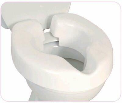 NRS Healthcare F25145 Novelle Portable Clip-On Raised Toilet Seat FREE POST
