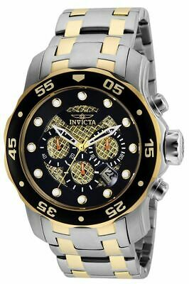 Invicta Pro Diver 25333 Men's Round Black Chronograph Date Analog Watch