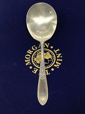 "Wm. Rogers & Son Aa ""Triumph"" Large Serving Spoon Patient Applied For 1925 Wow"