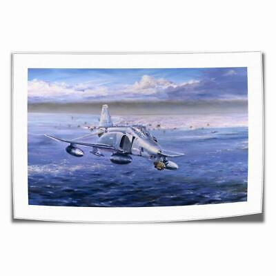 "16""x24""Douglas F-4 Phantom Paintings HD Print on Canvas Home Decor Room Wall Art"