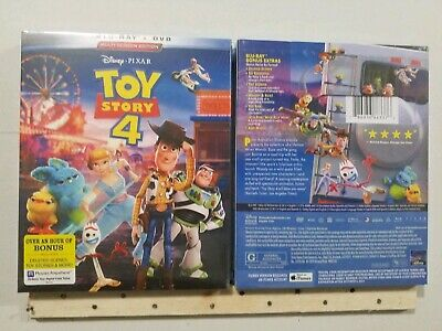 Toy Story 4 (Blu-ray + DVD 2019) w/Slipcover Brand New Free Shipping