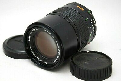 Minolta MD Tele Rokkor 135mm 1:3.5 Lens **As Is** #XX23a