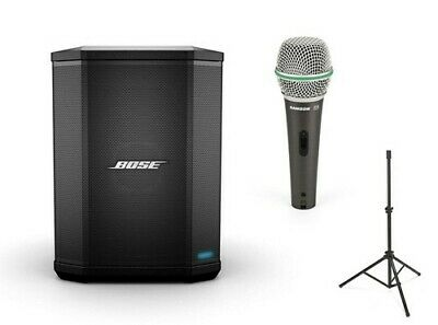 Bose S1 Pro Live Package with Microphone and Speaker Stand