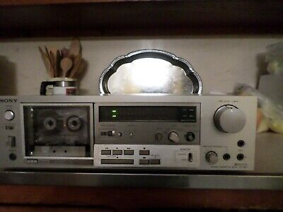 Sony vintage cassette stereo deck three head TC-K71 works