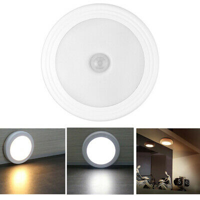 Motion Activated Cordless Sensor LED Light Indoor Outdoor Garden Wall Toilet
