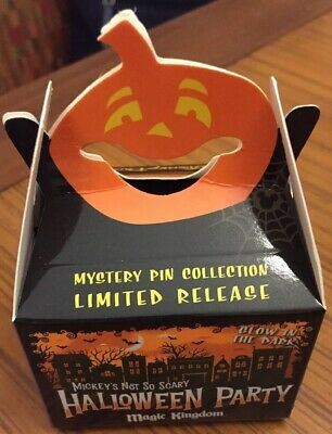 Disney Magic Kingdom Limited Release Mystery Box Halloween Party Pins Brand New