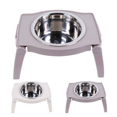 Non-Slip Elevated Dog Bowl Feeder Raised Pet Cat Dog Dish Food Water Holder