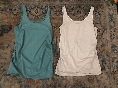 Jeanswest Maternity Singlet Tops Sz 10 X2