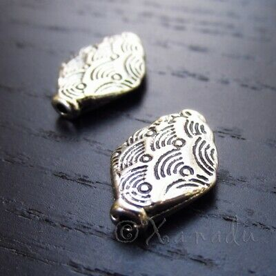 20 Or 50PCs Heart Shaped 9.5mm Antiqued Silver Plated Spacer Beads B1357-10