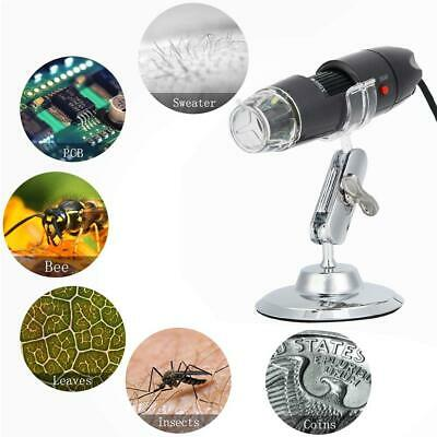 Portable Camera Endoscope USB Digital Microscope Magnification with Stand