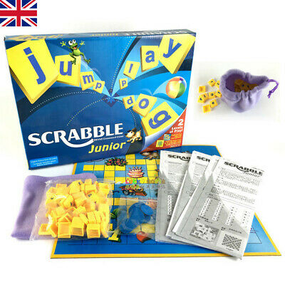 Family Gathering Game Junior Version Scrabble Childs Board Funny Fun Toy Gift UK