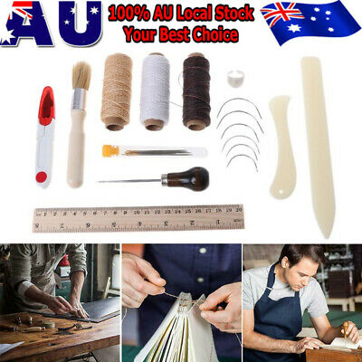 23X Embroidery Stitching Tool Bookbinding Tools Kit Including Needles Sewing DIY