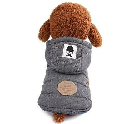 Pet Cat Dog Winter Coats Warm Hoodie for Small Dog Puppy Chihuahua Clothes