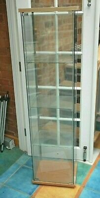 Display Cabinet Home Retail Use Glass Shelves Collect. Leics Le8