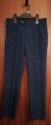 Next Boys suit / school trousers, age 12, navy, excellent condition. Height 152c