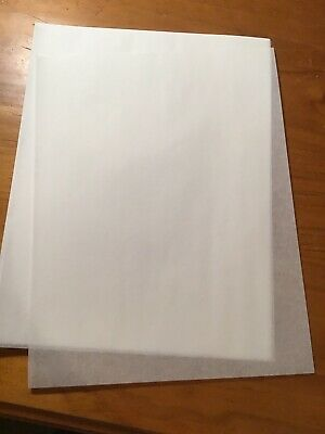 Onion Skin Paper 40 SHEETS - 22 x 28 cm German Made 37gsm