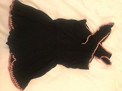 Seed Teen Size 12 Black One Piece Playsuit Shorts