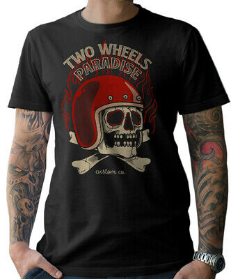 Camiseta Ciclista Oldschool Motocicleta Chopper Custom Atornillador Wrench Mc