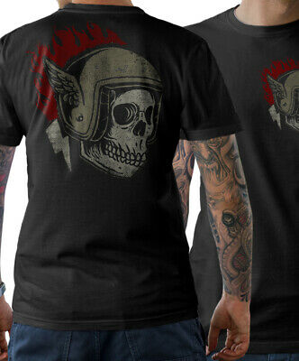 Camiseta Ciclista Oldschool Motocicleta Chopper Custom Atornillador Wrench de Mc