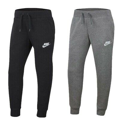 Nike Girls Tracksuit Bottoms Joggers Sweatpants NSW Kids Fleece Trouser Youth