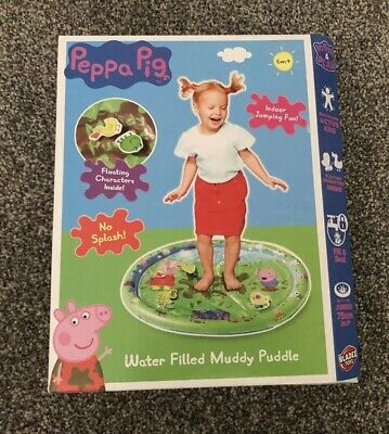 Brand New Peppa Pig Inflatable Water Filled Muddy Puddle Play Mat-No Mess
