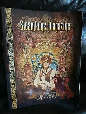 Steampunk Magazine -  The First Years Issues #1-7 - compilation book