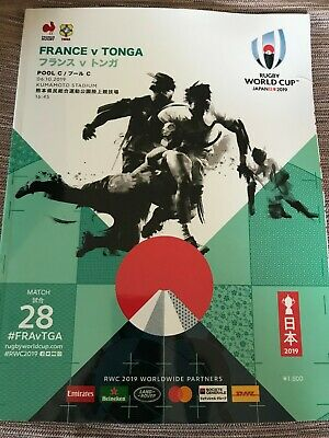 France v Tonga, 2019 Rugby World Cup pool match, Kumamoto