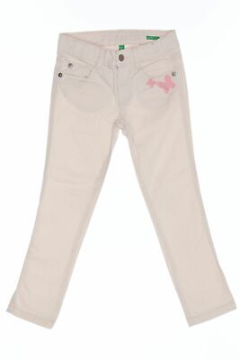 UNITED COLORS OF BENETTON Skinny-Stretch-Hose mit Applikationen D 110 nude pink