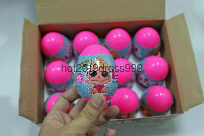 12PCS/Set Surprise DOLL SERIES 1 Balll Collectible LOL Outrageous Toy Kid Gift