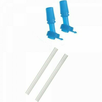 CamelBak Eddy Kids Bite Valves and Straws Double Pack One Size Blue FREE POSTAGE