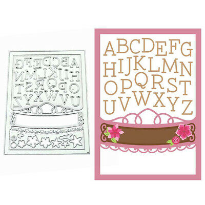 LETTER FRAME CUTTING DIES SCRAPBOOK EMBOSS PAPER CARDS STENCIL CRAFT MOLD Eager