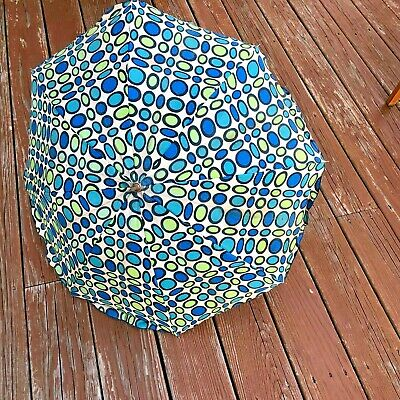 Original Vintage Child Umbrella Nylon Groovy Mod 60s Funky Hippie