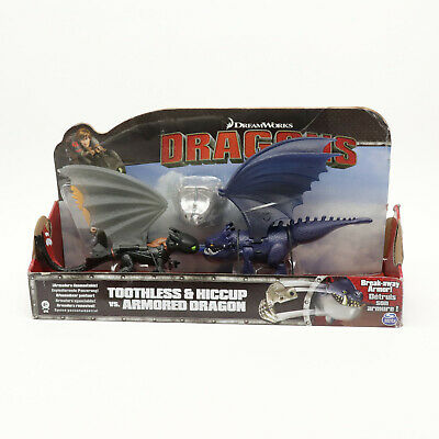 DreamWorks Dragons How To Train Your Dragon Hiccup Toothless Vs Armoured Dragon