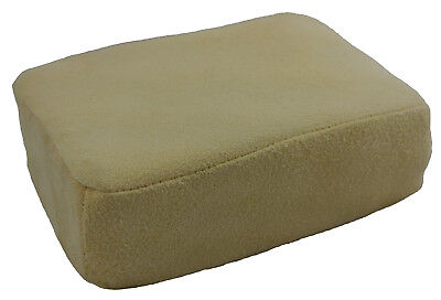 LARGE Chamois Leather Sponge Pad For Demisting Car Windows