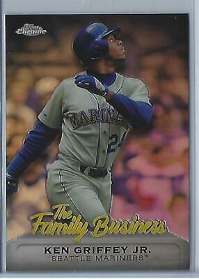 2019 Topps Chrome Update Ken Griffey Jr The Family Business FBC-1 (Mariners)
