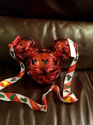 Disneyland Disney Parks 2019 Christmas Mickey Jingle Ornament  Sipper