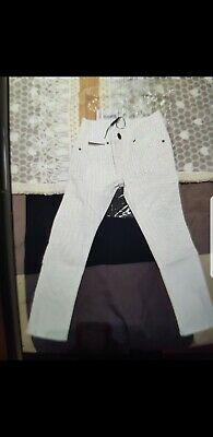 Jeans Bianco Burberry Junior