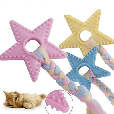 Dog Toys Puppy Rope Teething Chew Playtime Teeth Cleaning Pet Training Bite T