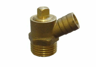 """1/2"""" BSP Threaded Tail Brass Water Heating Draw Off Drain Off MT Cock Type B Tap"""