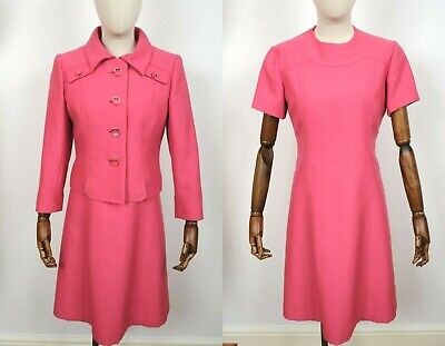 Vintage 1960s Ladies Suit, Peggy French Size 10-12
