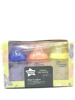 Tommee Tippee Closer to Nature Slow Flow 0m+ 260 ml 9 oz 3x