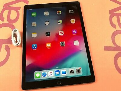Apple iPad Pro 2nd Gen. 256GB, Wi-Fi Cellular (Unlocked), 12.9in Space Grey K475