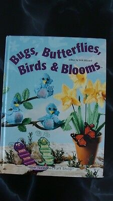 Bugs, Butterflies, Birds & Blooms by Vicki Blizzard Book Plastic CanvasProjects