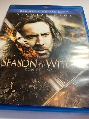 Season of the Witch (Blu-ray Disc, 2011, 2-Disc Set, Includes Digital Copy)