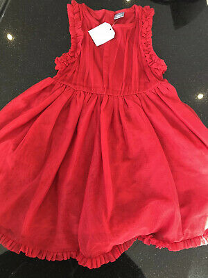Bnwt NEXT Beautiful layered Red Party Dress  3-4 yrs