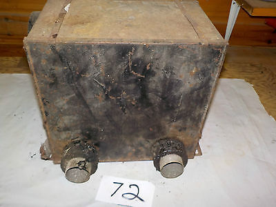 Vintage Car Heater Box