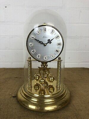 Lovey Vintage Kein Glass Dome Anniversary Clock - Kern Sohne