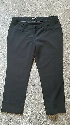 ASOS Maternity Trousers Size 16 Black,  Cropped.