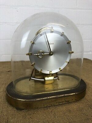 Antique Kieninger & Obergfell Kundo Electronic Mantle Clock Western Germany