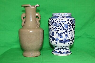 Two Chinese ceramic vases
